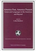 America Past  America Present Book
