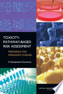 Toxicity Pathway Based Risk Assessment Book