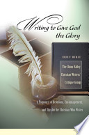 Writing to Give God the Glory Book