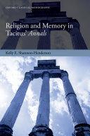 Religion and Memory in Tacitus' Annals Pdf/ePub eBook