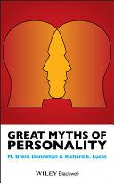 Great Myths of Personality [Pdf/ePub] eBook