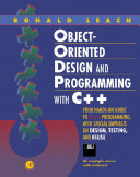 Object Oriented Design and Programming with C