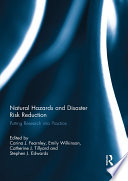 Natural Hazards and Disaster Risk Reduction Book
