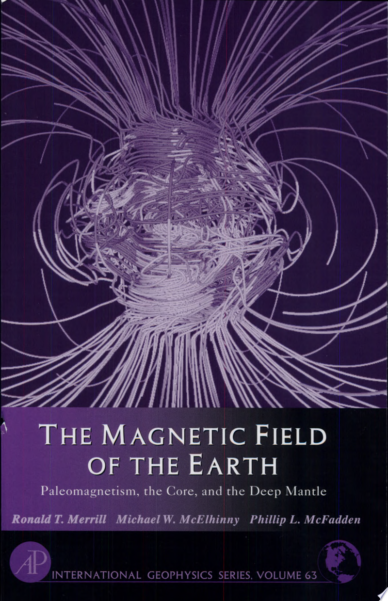 The Magnetic Field of the Earth banner backdrop