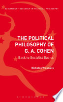 The Political Philosophy of G  A  Cohen