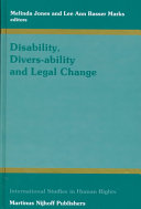 Disability, Divers-Ability and Legal Change