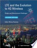 LTE and the Evolution to 4G Wireless Book