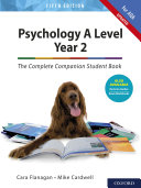 Psychology A Level Year 2  The Complete Companion Student Book for AQA