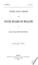 Annual Report of the State Board of Health of Massachusetts
