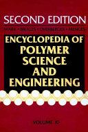 Encyclopedia of Polymer Science and Engineering, Molecular Weight Determination to Pentadiene Ploymers