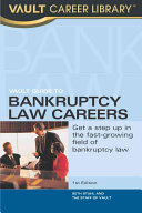 Vault Guide to Bankruptcy Law Careers