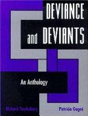 Deviance and Deviants Book PDF