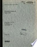 Parameterization of Solar Cells Book