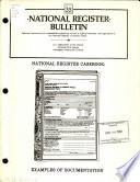 National Register casebook