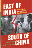 East of India  South of China Book
