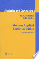 Modern Applied Statistics With S Book PDF