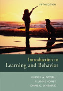 Introduction to Learning and Behavior   Sniffy the Virtual Rat Lite  Version 3 0   Cd rom