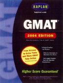 Kaplan Gmat 2004 Book