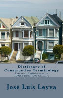 Dictionary of Construction Terminology