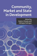 Pdf Community, Market and State in Development