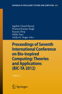 Proceedings of Seventh International Conference on Bio-Inspired Computing: Theories and Applications (BIC-TA 2012)