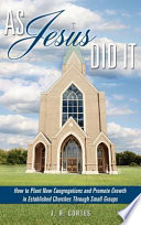 As Jesus Did It Book PDF