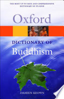 """""""A Dictionary of Buddhism"""" by Damien Keown"""