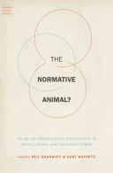 The Normative Animal? Pdf/ePub eBook