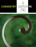 Chemistry & Chemical Reactivity