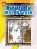 Death Be Not Proud Pdf/ePub eBook