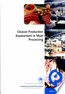 Cleaner Production Assessment In Meat Processing Book PDF