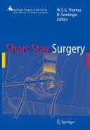 Short Stay Surgery [Pdf/ePub] eBook