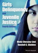 Girls Delinquency And Juvenile Justice