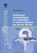 Traitement ostéopathique des lombalgies et lombosciatiques par hernie discale ebook