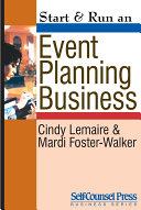 Start   Run an Event Planning Business