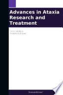 Advances In Ataxia Research And Treatment 2012 Edition Book PDF