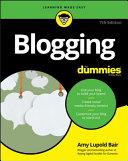 Blogging For Dummies Pdf/ePub eBook