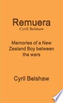 Remuera  Memories of a New Zealand boy between the wars