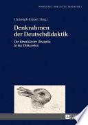 Denkrahmen der Deutschdidaktik