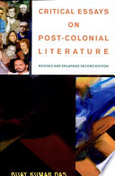 Critical Essays on Post-colonial Literature