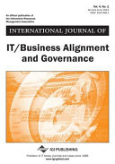 International Journal of IT/Business Alignment and Governance (IJITBAG).