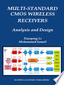 Multi-Standard CMOS Wireless Receivers: Analysis and Design