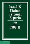 Iran-U.S. Claims Tribunal Reports: