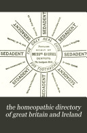 The Hom  opathic medical directory of Great Britain and Ireland