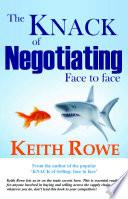 The Knack Of Negotiating