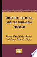 Concepts Theories And The Mind Body Problem