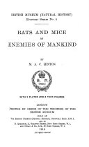 Rats and Mice as Enemies of Mankind