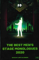 link to 2020 : the best men's stage monologues in the TCC library catalog