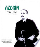 Azorín 1904-1924  : IIIe Colloque International, Pau-Biarritz 27,28 et 29 avril 1995