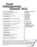 Court Management Journal